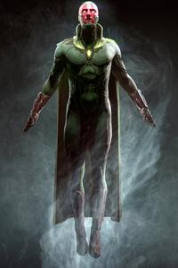 1080x1920 Vision Marvel Superhero