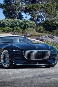 240x320 Vision Mercedes Maybach 6 Cabriolet