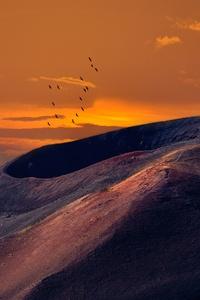 540x960 Volcanic Landscape 8k