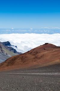 320x568 Volcano Haleakala On The Hawaiian Island 4k