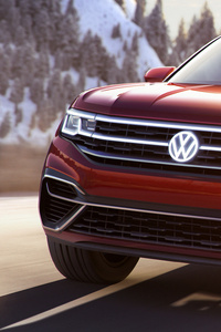 Volkswagen Atlas Cross Sport Concept 2018 Front