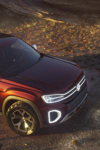 Volkswagen Atlas Tanoak Pickup Truck Concept 2018 Upper View