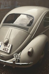 1440x2960 Volkswagen Beetle Vintage
