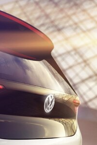 320x568 Volkswagen EV Concept Car