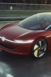 Volkswagen Id Vizzion 4k