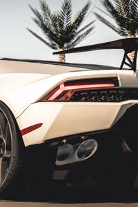 Vorsteiner Lamborghini Huracan 2019 8k Rear