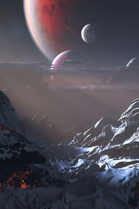 Vulcan Planet Snow
