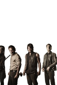 320x480 Walking Dead Actors