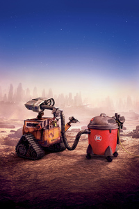 640x960 Wall E Movie 4k