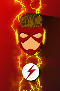 Wally West Refined Costume Artwork