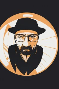 Walter White Fish Eye Lens