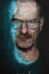 Walter White In Breaking Bad 4k Low Poly