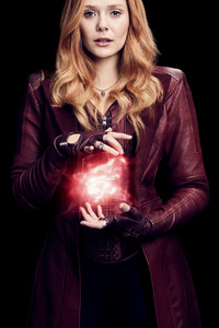 Wanda Maximoff In Avengers Infinity War 4k