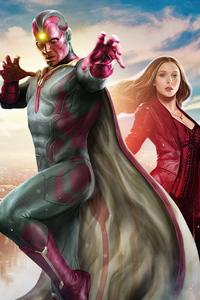 Wanda Vision 2021 Poster