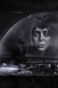 Wanda Vision Dark Nights 4k
