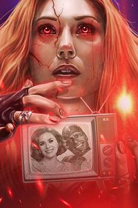 Wanda Vision Fan Made Poster 4k