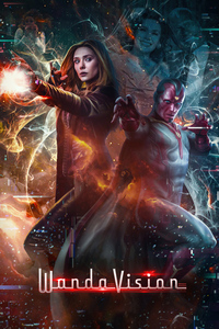 Wanda Vision Fanmade Poster 4k