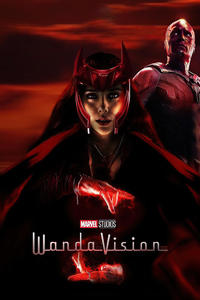 1242x2688 Wanda Vision Fanmade Poster