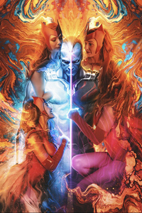 1440x2960 Wanda Vision Final Poster 4k