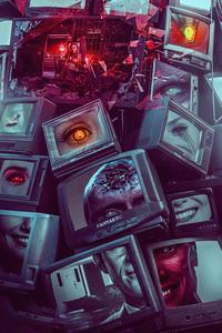 640x1136 Wanda Vision Poster 4k