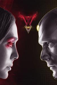 480x854 Wanda Vision Tv Series Poster 4k