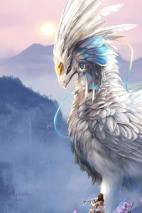 1242x2688 Wandering Soul Bird