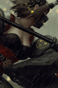 War Girl 4k