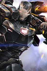 1080x2160 War Machine 2020 Armor