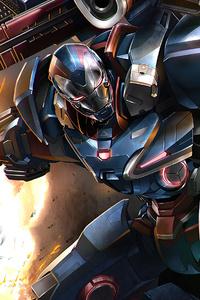 1080x2160 War Machine 2020 Art