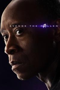 War Machine Avengers Endgame 2019 Poster