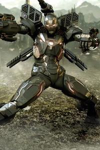 War Machine Avengers Endgame 4k