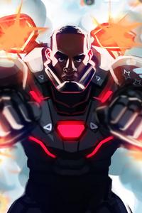War Machine Avengers Endgame Artwork