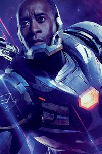 War Machine In Avengers Endgame