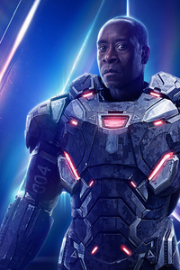 War Machine In Avengers Infinity War New Poster