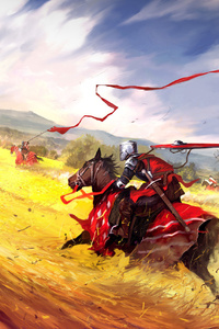 War Started Horse Riders