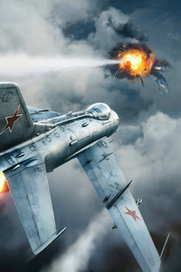 War Thunder Planes Art 4k