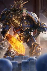 640x1136 Warhammer 40k Artwork 4k