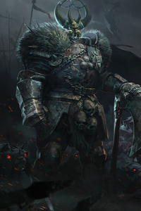 1242x2688 Warhammer Vermintide 2 2019