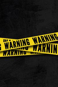 750x1334 Warning 4k