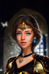 1125x2436 Warrior Beautiful Princess 5k