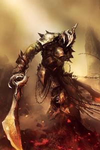 Warrior Fantasy Art 4k