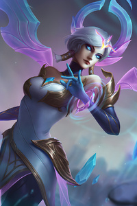 540x960 Warrior Fantasy Girl With Wings Fanart