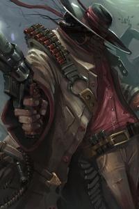 Warrior With Guns 4k