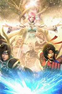 240x400 Warriors Orochi 4
