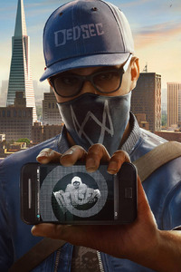 1280x2120 Watch Dogs 2 PS4 Pro