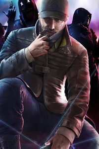 480x854 Watch Dogs Legion Game Art 4k