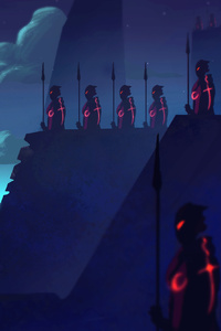 Watchers Of The Night 4k
