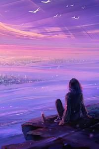 720x1280 Watching Moon City