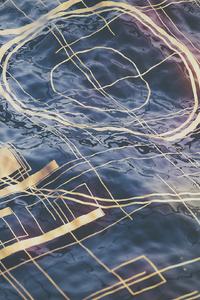 Water Digital Abstract 4k