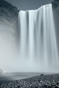 240x400 Waterfall Photography